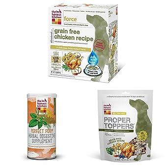 The Honest Kitchen Starter Kit   Natural Grain Free Chicken Dog Food,  Digestive Supplement And