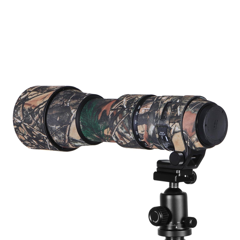 Selens Manteau Camouflage Coque lentille de Protection dobjectif pour Appareil Photo Canon