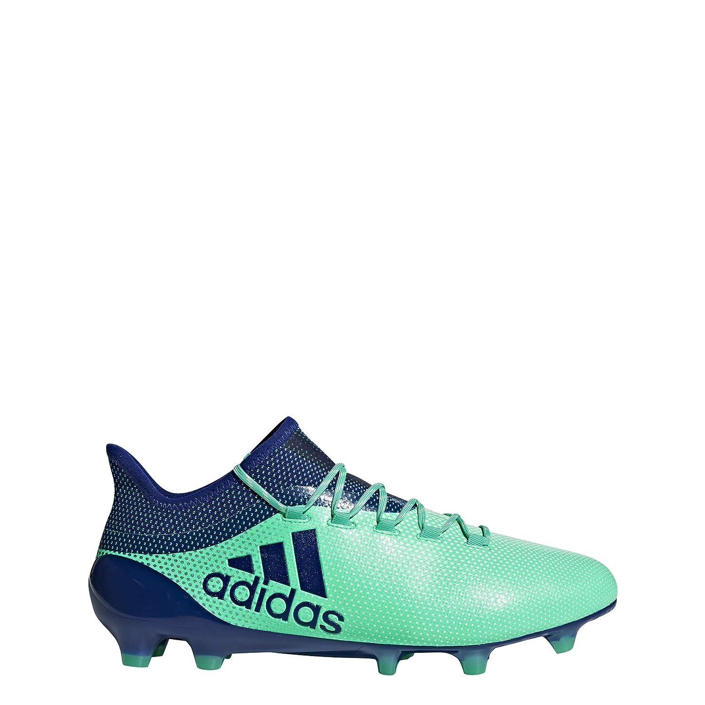 Bleu (Aerver   Tinuni   Vealre 000) adidas X 17.1 FG, Chaussures de Football Homme 47 1 3 EU