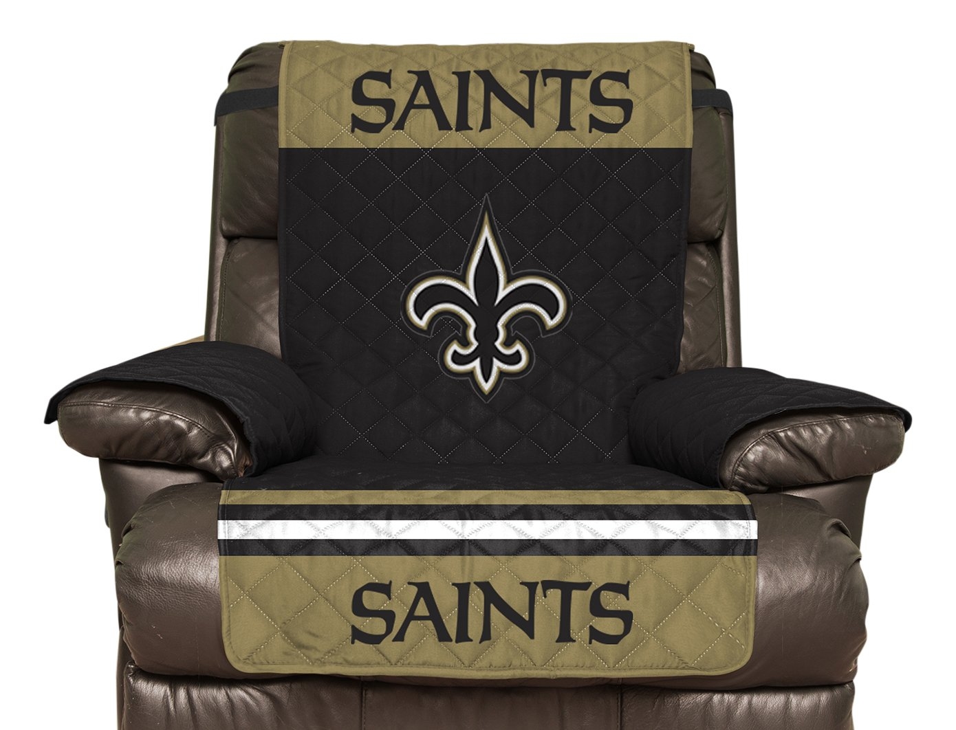 Amazon.com: NFL New Orleans Saints Recliner Reversible Furniture Protector  With Elastic Straps, 80 Inches By 65 Inches: Sports U0026 Outdoors