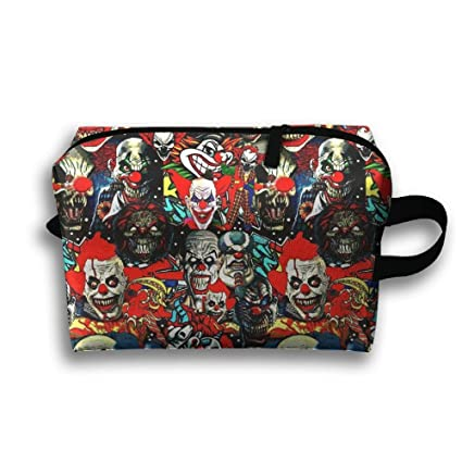 2b690957813e Amazon.com  SO27Tracvel Clowns The Bad Boys Toiletry Bag Dopp Kit ...