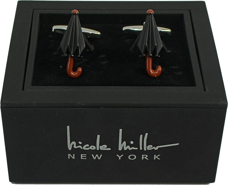 Nicole Miller Studio Umbrella Cuff Links