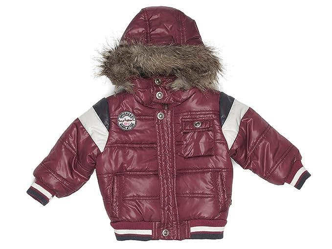 bfc Babyface - Abrigo para niño violeta de 100% poliéster, talla: 104 (