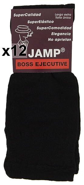 JAMP - Calcetines Ejecutivo Negro (12)