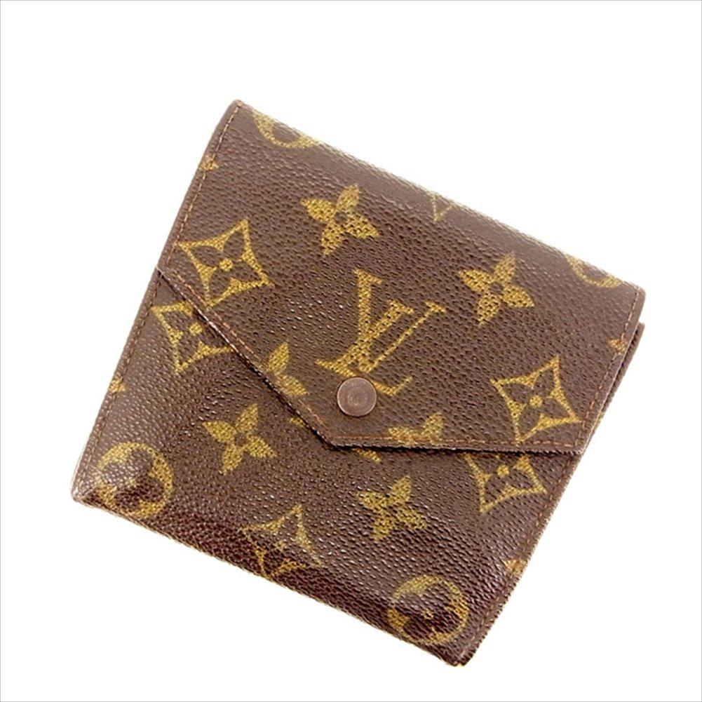 ルイヴィトン Louis Vuitton Wホック財布 二つ折り財布廃盤レア ユニセックス ボルトモネビエ(旧タイプ) M61660 モノグラム 中古 M1055   B01N4WU2QY