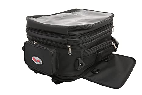 Viper Moto Accessories Moto maletín de accesorios y bolsa Tank Mochilas Speed ampliable Tank portaequipajes,
