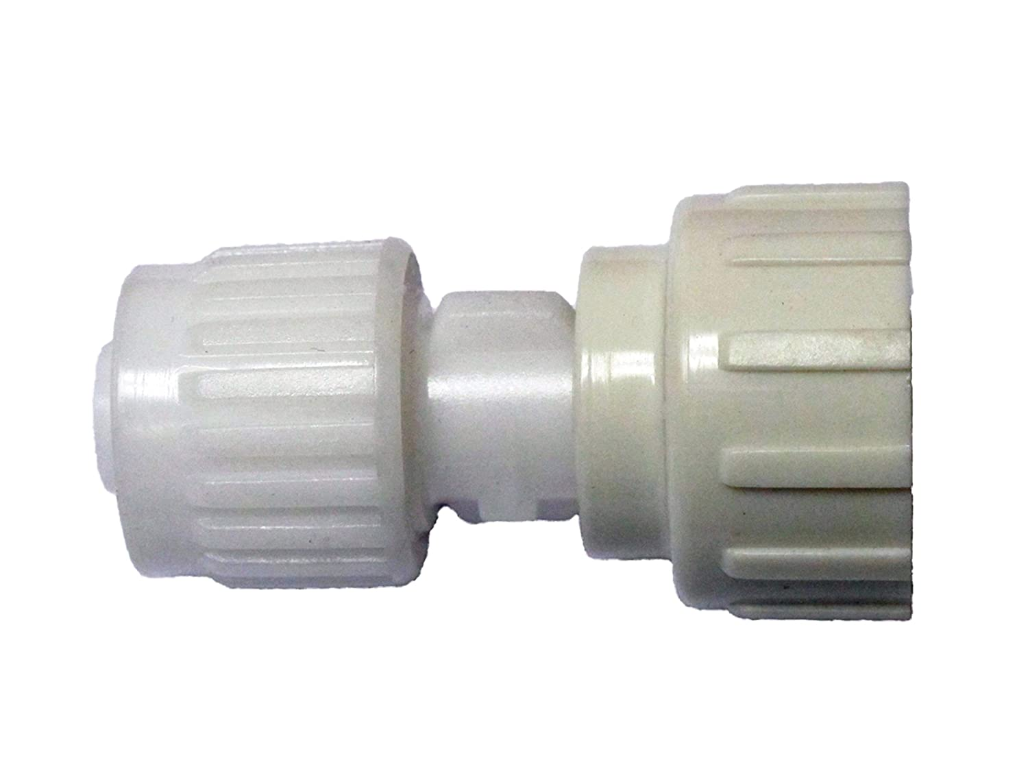 "Flair-It 16866 Plastic Garden Hose Swivel Adapter, 0.5"" Size"