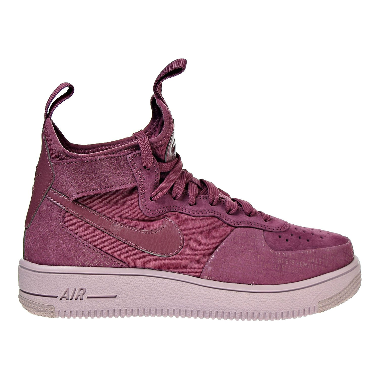 low priced a2587 caffe NIKE Air Force 1 Ultraforce Mid Fif Womens Shoes Vintage Wine aj1701-600  Pink Size 8.5 UK Amazon.co.uk Shoes  Bags