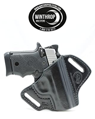 Sig Sauer P938 NO Laser OWB Shield Holster R/H Black - 0319