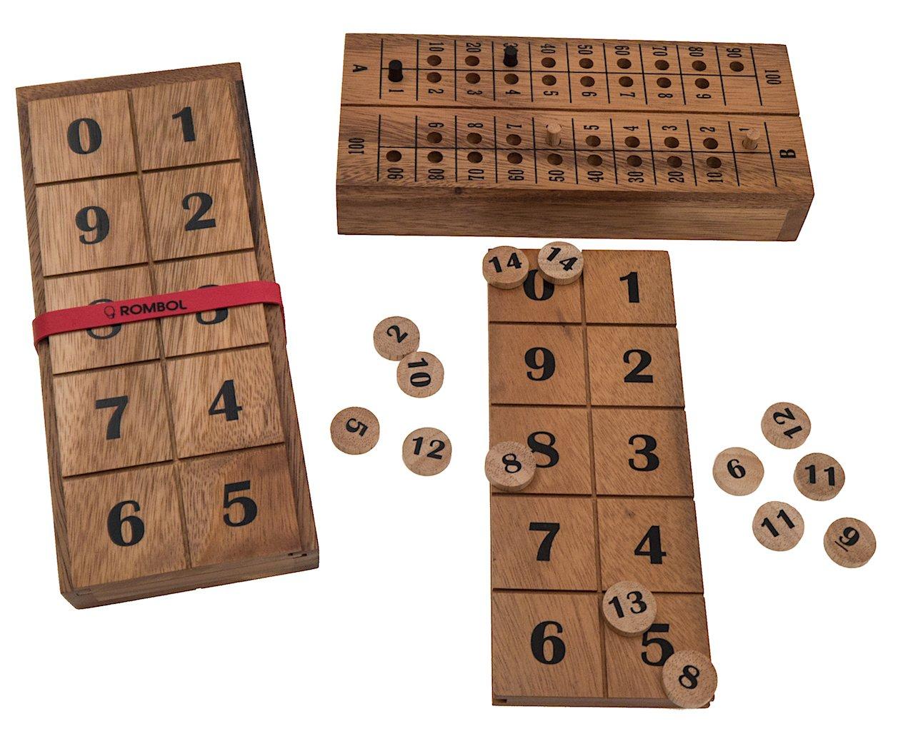 15', (Fred Horn, Niederlande, 2016), Gesellschaftsspiel für 2 Personen, Familienspiel, Brettspiel, Gesellschaftsspiel aus Holz