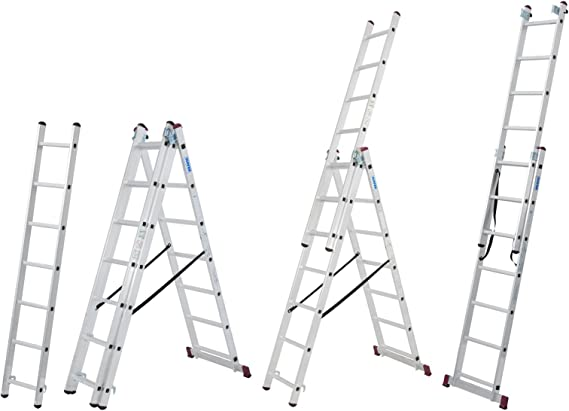 Krause 030375 Corda - Escalera Multiusos (3 x 7 SPR): Amazon.es: Electrónica