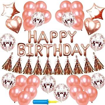 Amazon.com: Decoración de cumpleaños para cumpleaños de ...