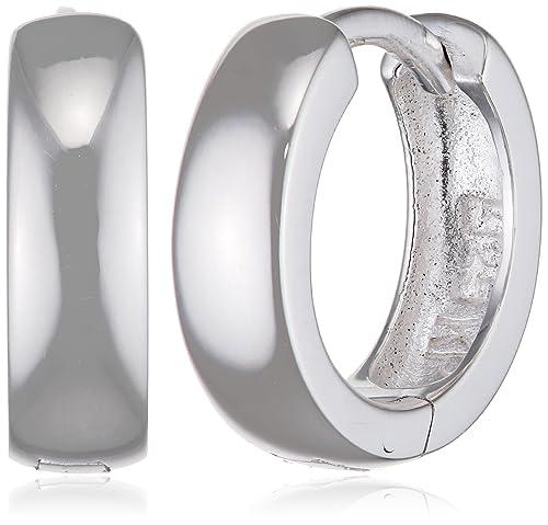 SilberDream Ohrringe 12mm Damen-Schmuck 925er Silber Creolen klein  SDO333S2  Amazon.de  Schmuck 688af32ab9