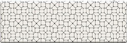 Lunarable Geometric Bench Cushion