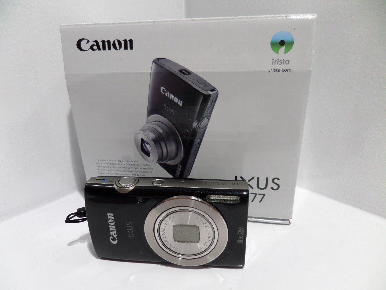 Canon Ixus 70 Black Eu23 Compact Camera Black Elektronik