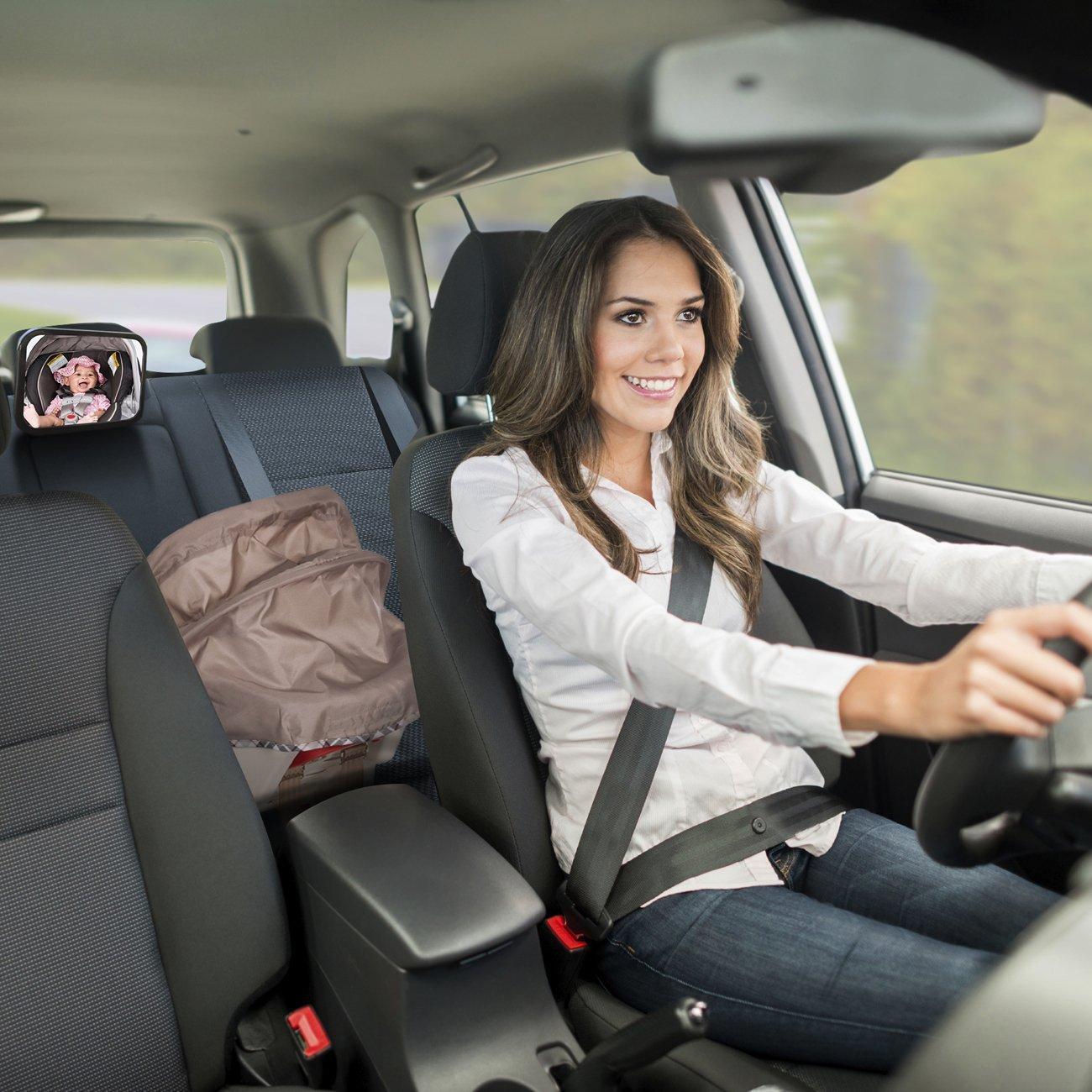 Amazon OxGord Baby Car Mirror For Rear View