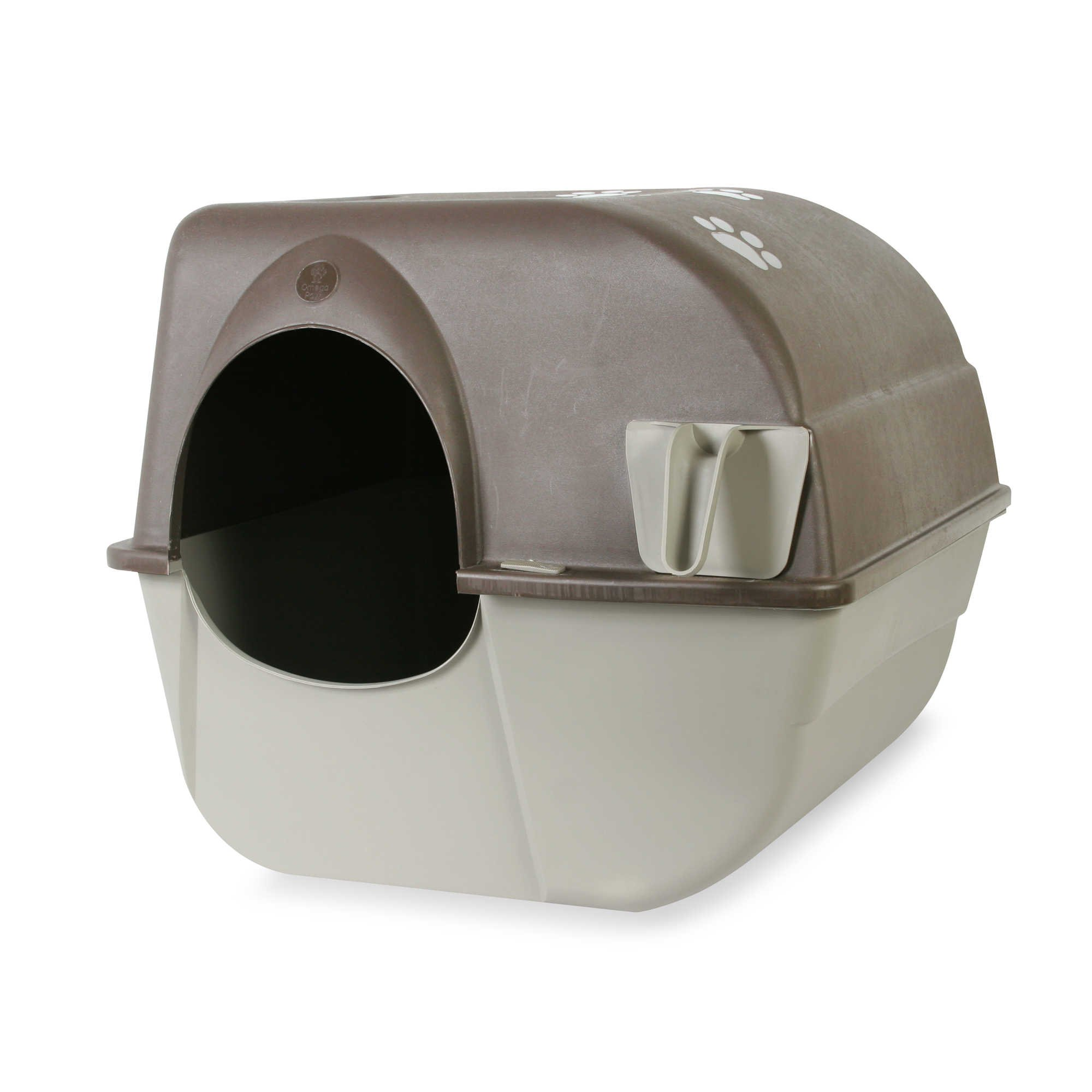 Omega Paw Large Roll' N CleanTM Litter Box by Omega Paw