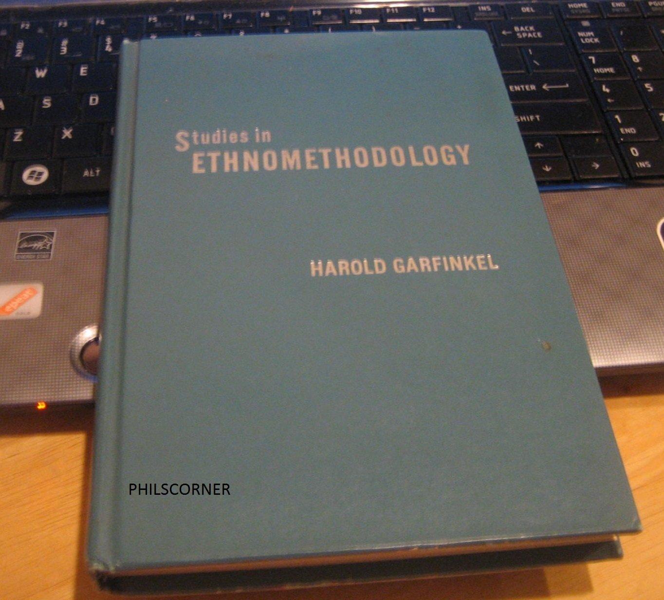 Studies in Ethnomethodology