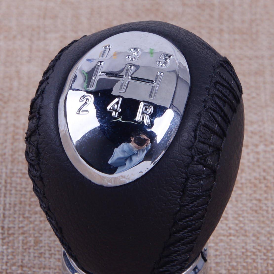 Seulement la t/ête de bouton de changement de vitesse, la botte nest pas incluse CITALL Bouton de changement de vitesse /à 6 vitesses de Mazda 3 5 6 323 626 RX-8 MPV