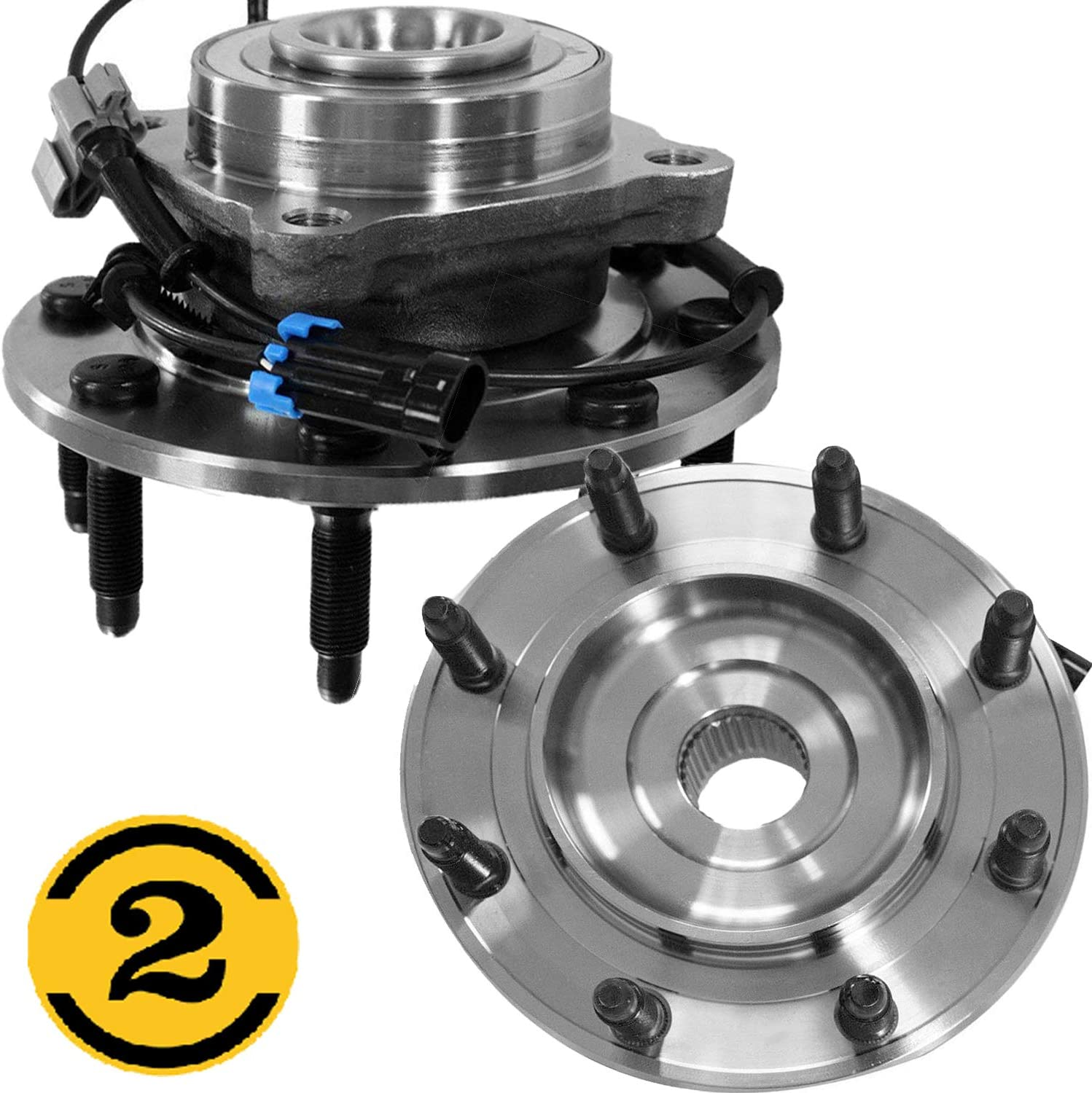 Front Driver or Passenger Wheel Bearing /& Hub Assembly for Chevy GMC 2500 3500