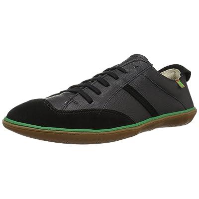 El Naturalista Men's N5273 Soft Grain-lux Suede Black/El Viajero Slipper | Slippers