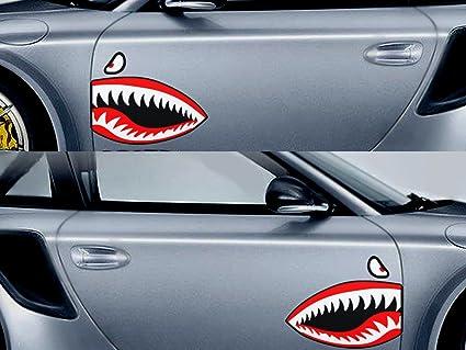 "Warhawk Sticker Decal Vinyl Flying Tiger Shark Teeth Fighter 12/"" X 6/"" War Hawk"