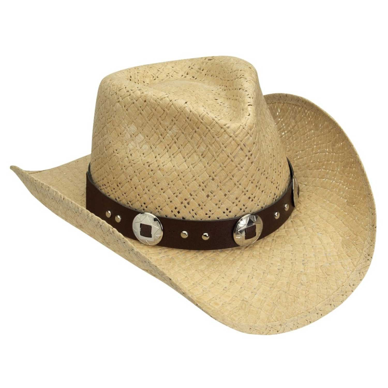 "Silverado /""Jasper/"" Men/'s Toyo Straw Western Cowboy Hat JASPER"