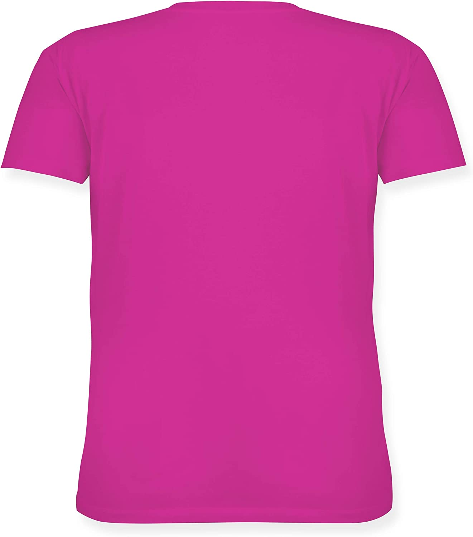 Lockeres Damen-Shirt in gro/ßen Gr/ö/ßen mit Rundhalsausschnitt wei/ß Schwester /& Tante Auntie 2020 Loading Shirtracer