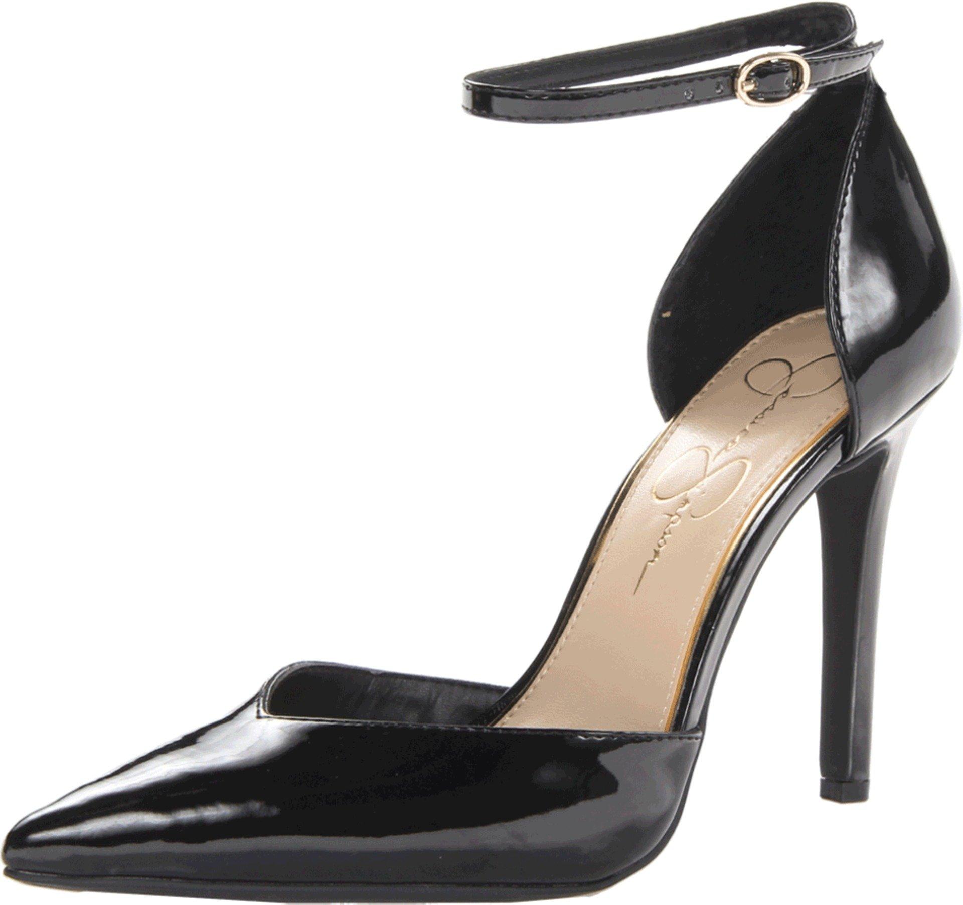 Jessica Simpson Women's Cirrus Dress Pump, Black, 8 Medium US