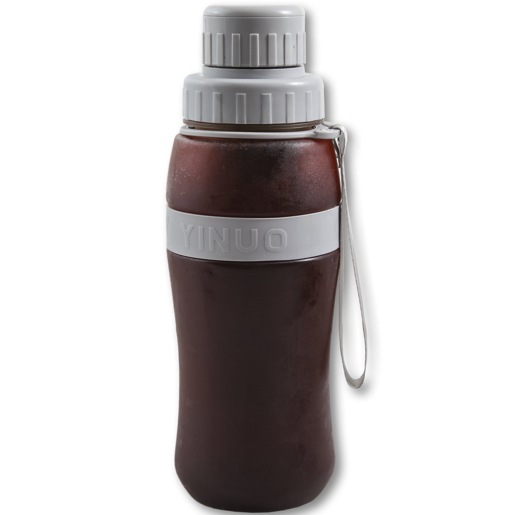 EZE Homegoods Cold Brew Iced Coffee Maker & Iced Tea Maker - 28 Ounces in Convenient Travel Mug with airtight lid by EZE Cold Brew Iced Coffee Maker