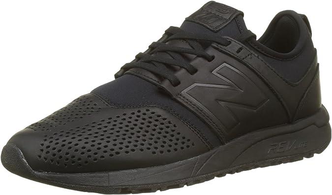 New Balance Buty 247 Classic, Protectores de Dedos. para Hombre, Color Negro, 41.5 EU: Amazon.es: Zapatos y complementos