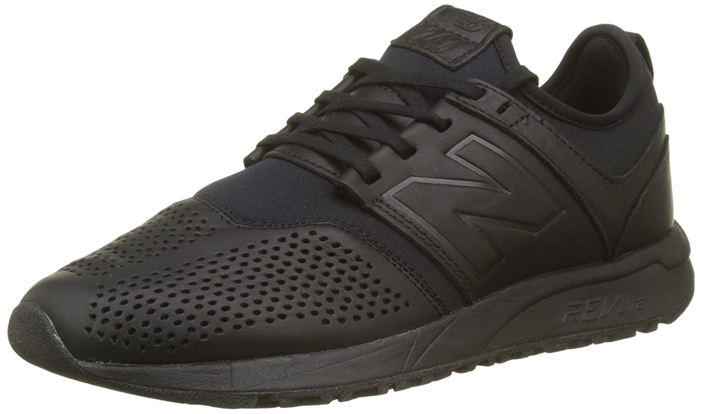 New Balance Herren 247 Classic Mesh Sneaker  40.5|Schwarz