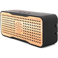 Reveal Solar Speaker, Portable Wireless Bluetooth Bamboo Speaker & Phone Charger - Eco-Friendly Bamboo Wood Design