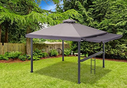 Sunjoy Double Roof Gazebo-Standard Gazebo with bar Rail - Amazon.com : Sunjoy Double Roof Gazebo-Standard Gazebo With Bar Rail