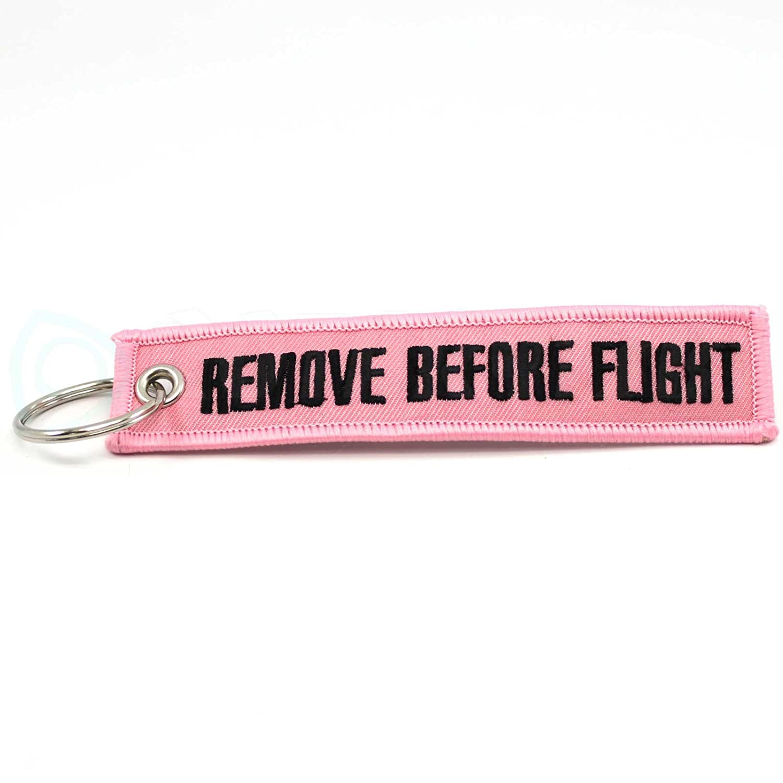 Rotary13B1 Pink RBF1184 Remove Before Flight Keychain