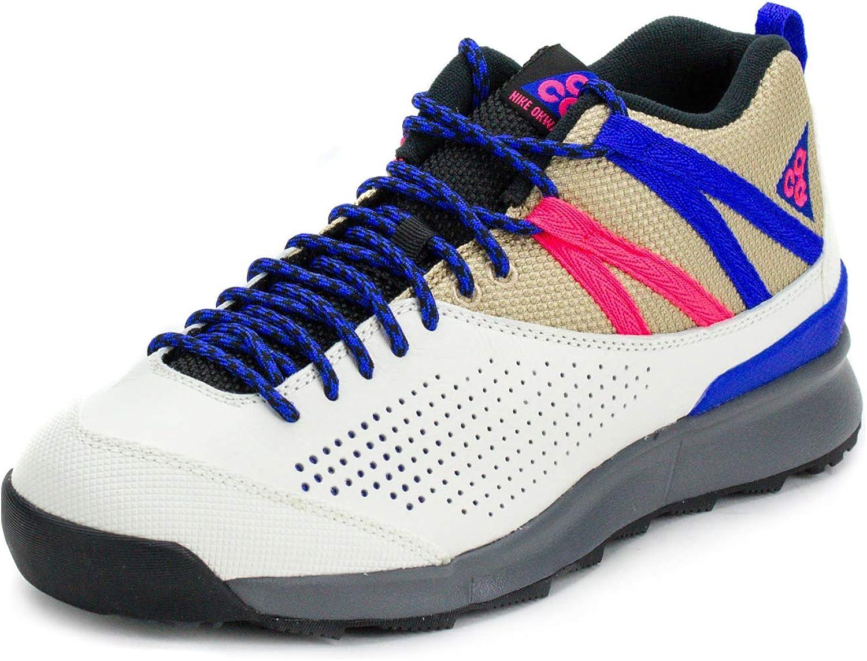 Nike Mens Okwahn II Sail Blue-Pink Synthetic