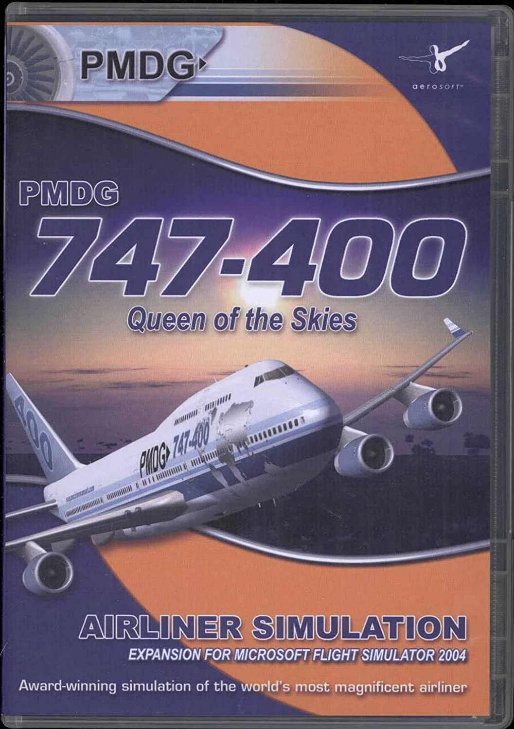 Amazon com: PMDG 747-400: Queen of the Skies Add-On: Video Games