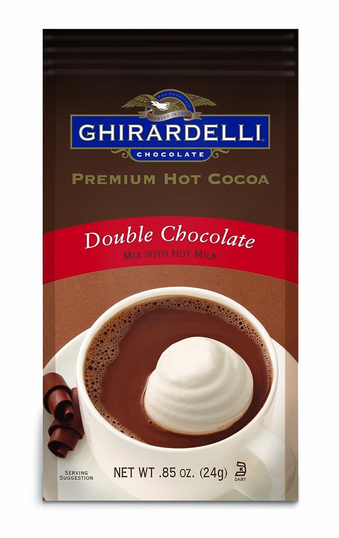 Amazon.com : Double Chocolate Cocoa Packets : Hot Cocoa Mixes ...