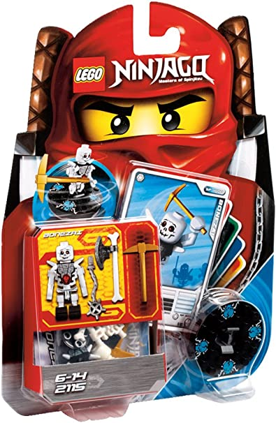 Amazon.com: LEGO Ninja go Bone zai 2115 (Japan Import): Toys ...