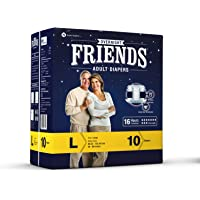 Friends Overnight Adult Diaper 10's Pack (Large)