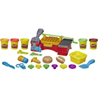 Play Doh Kitchen Creations Cookout Creations Play Food Barbecue Toy with 5 Non-Toxic Colors, 2 Oz Cans