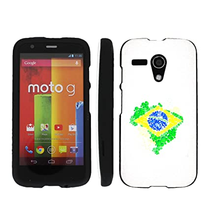Amazon Com Brazil Flag Paint Mobiflare Motorola Moto G