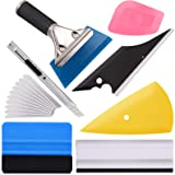 Ehdis Vinyl Wrap Tool 7 Pieces Vehicle Window Tint Tool Kit Car Glass Protective Film Wrapping Installation Set Included Viny