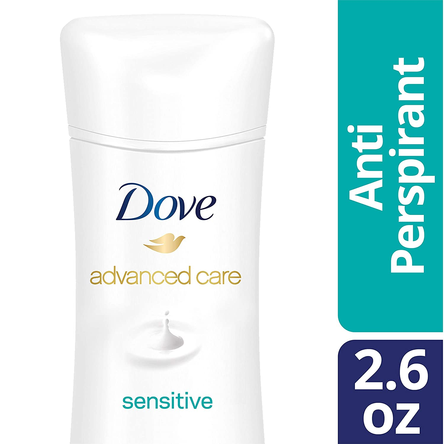 Dove Advanced Care Antiperspirant Deodorant, Sensitive 2.6 Ounce