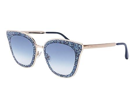 JIMMY CHOO Jimmy Choo Damen Sonnenbrille » LIZZY/S«, blau, KY2/08 - blau/blau
