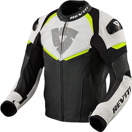 Revit Convex - Chaqueta de piel para moto: Amazon.es: Coche ...