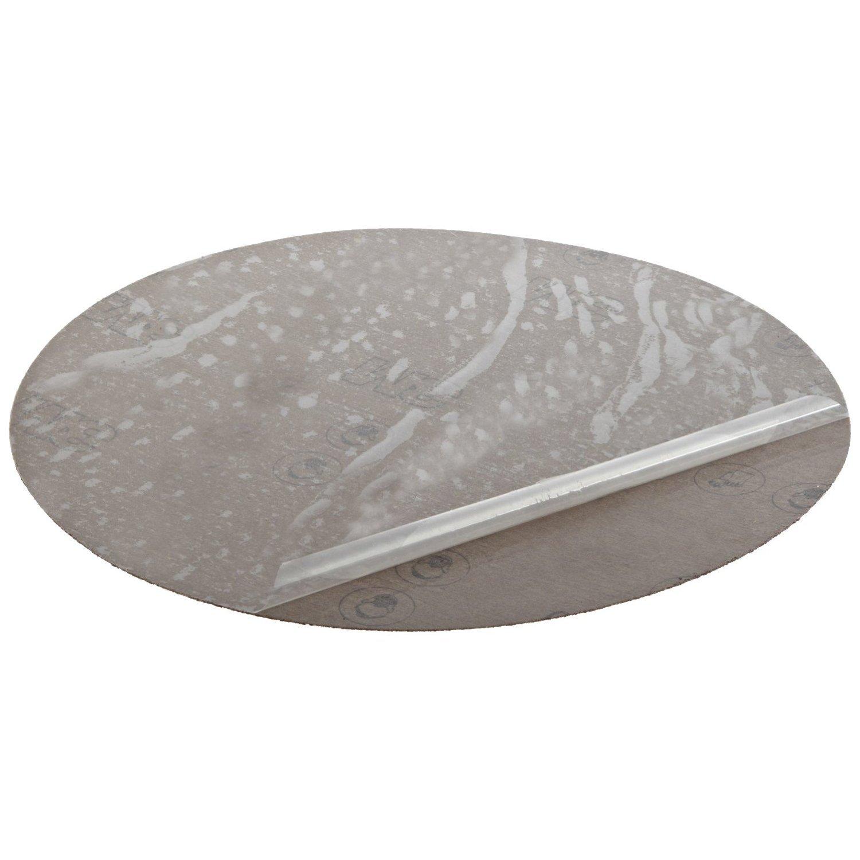 4 Diameter Aluminum Oxide 80 Grit PSA Attachment Pack of 50 4 Diameter 3M PSA Cloth Disc 348D