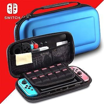 Goolsky- Estuche Portátil para Nintendo Switch con 10 Tarjetas de ...