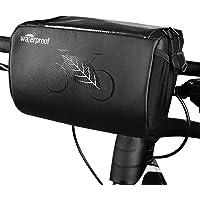 Eastdall Bolsa para quadro de bicicleta Bolsa para frontal Bolsa para guidão Bolsa para bicicleta com capa de telefone…