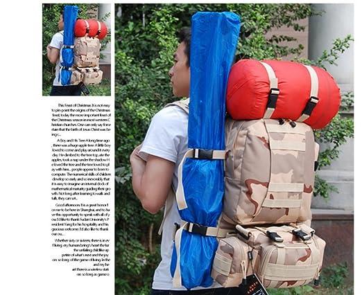 toute épreuve Baguettes en nylon pour sac à dos Ceintures Boucle de sac Realese rapide Accessoires de voyage réglables Bandoulière de rechange noir (Motif 3) YDf6ZY